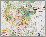 Mountain map Durmitor