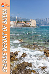 Seaside resort Budva montenegro