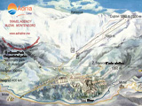 Ski map Bjelasica Kolasin