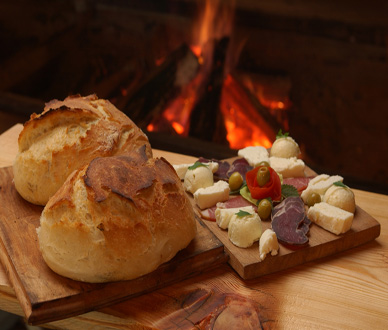 Bread and appetizer - Gastronomy of Montenegro