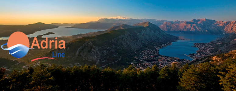 The Bay of Boka Kotorska - Montenegro