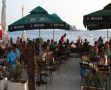 Budva beach bars