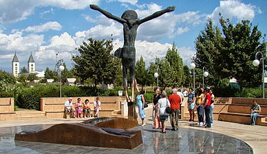 Medjugorje - Statue of Jesus Christ