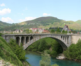 mojkovac river tara bridge