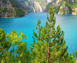 Nature of Piva Lake