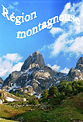 Mountainous region of Montenegro